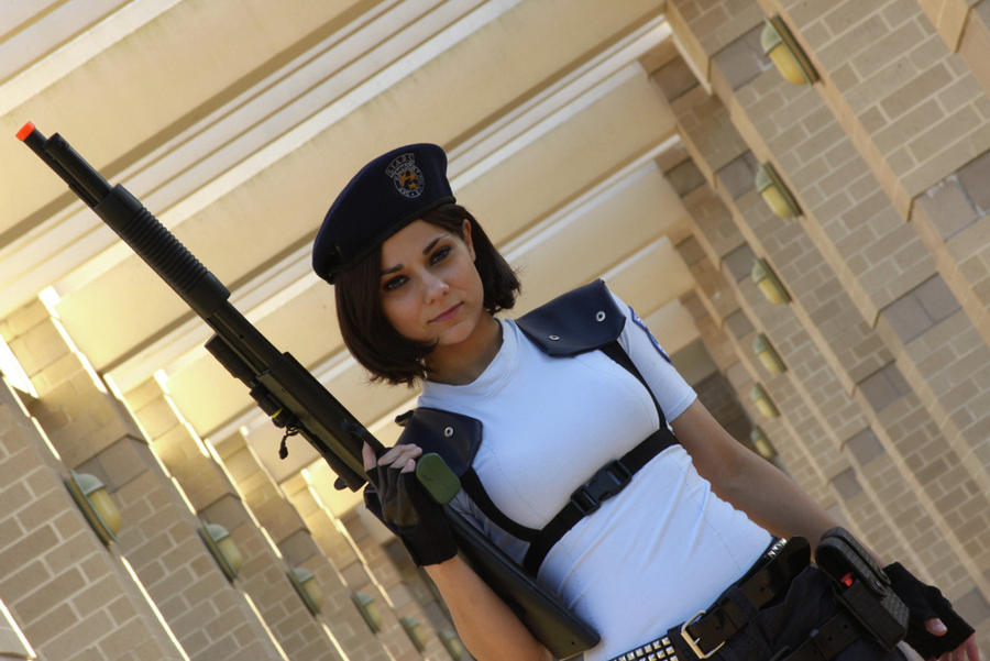 Resident Evil - Officer Valentine by Cortana2552
