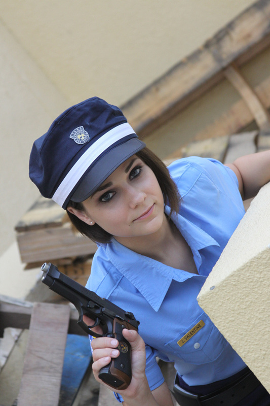 Resident Evil - Lady Cop by Cortana2552