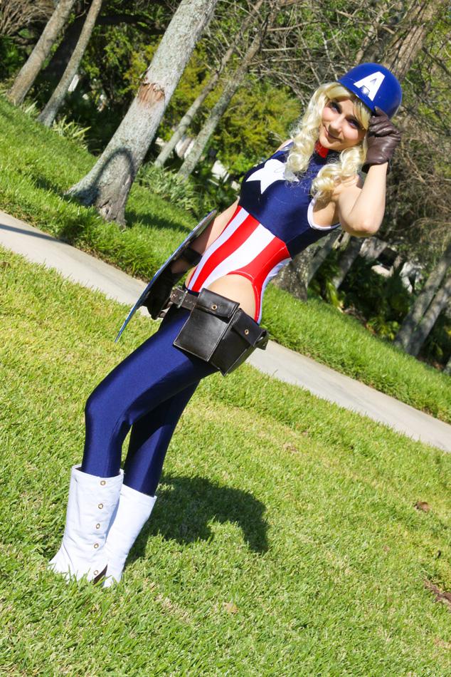 Captain America - Patriotic by Cortana2552
