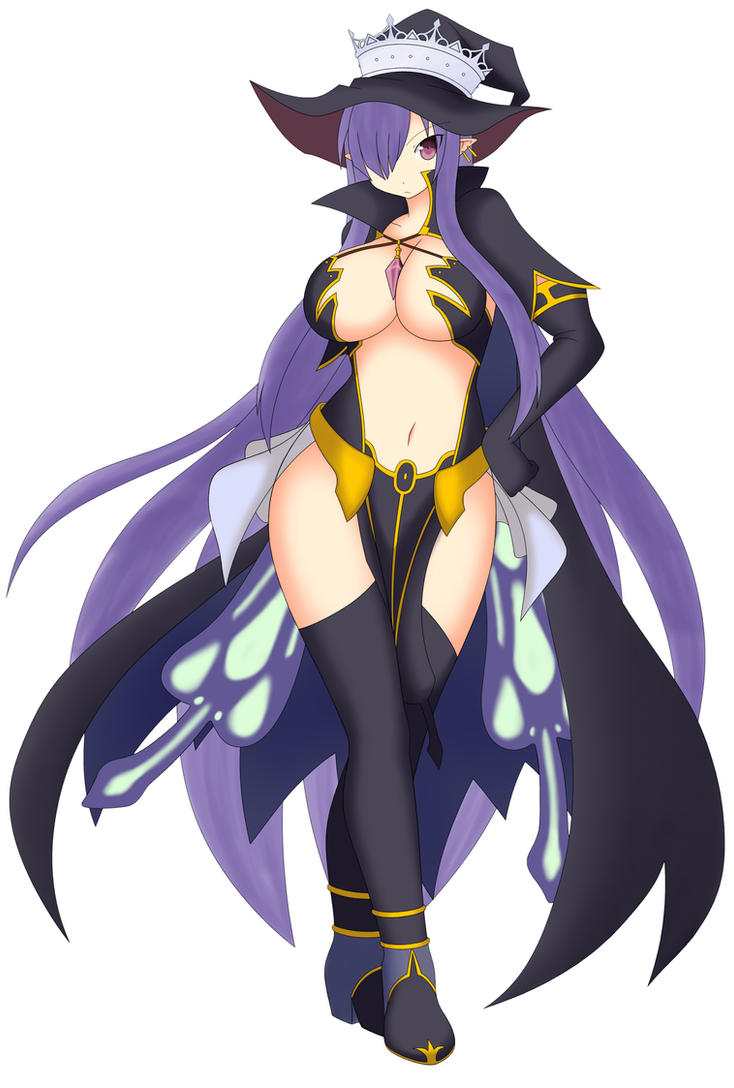 Fatima the Shadow Frost Witch - Luminous Arc by somegu