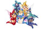 Magician Girls - Yugioh