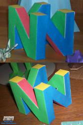 N64 Logo Assembled by billybob884