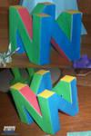 N64 Logo Assembled