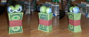 CBFD Money Wad Assembled
