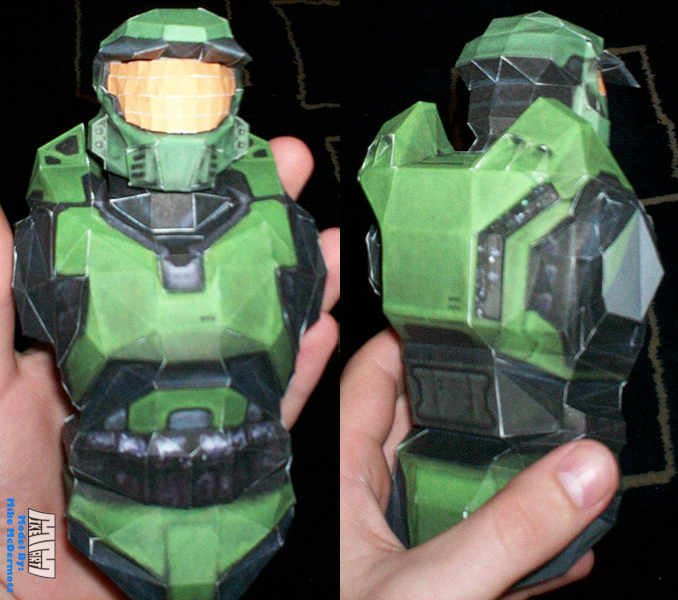 Incomplete Master Chief WIP by billybob884