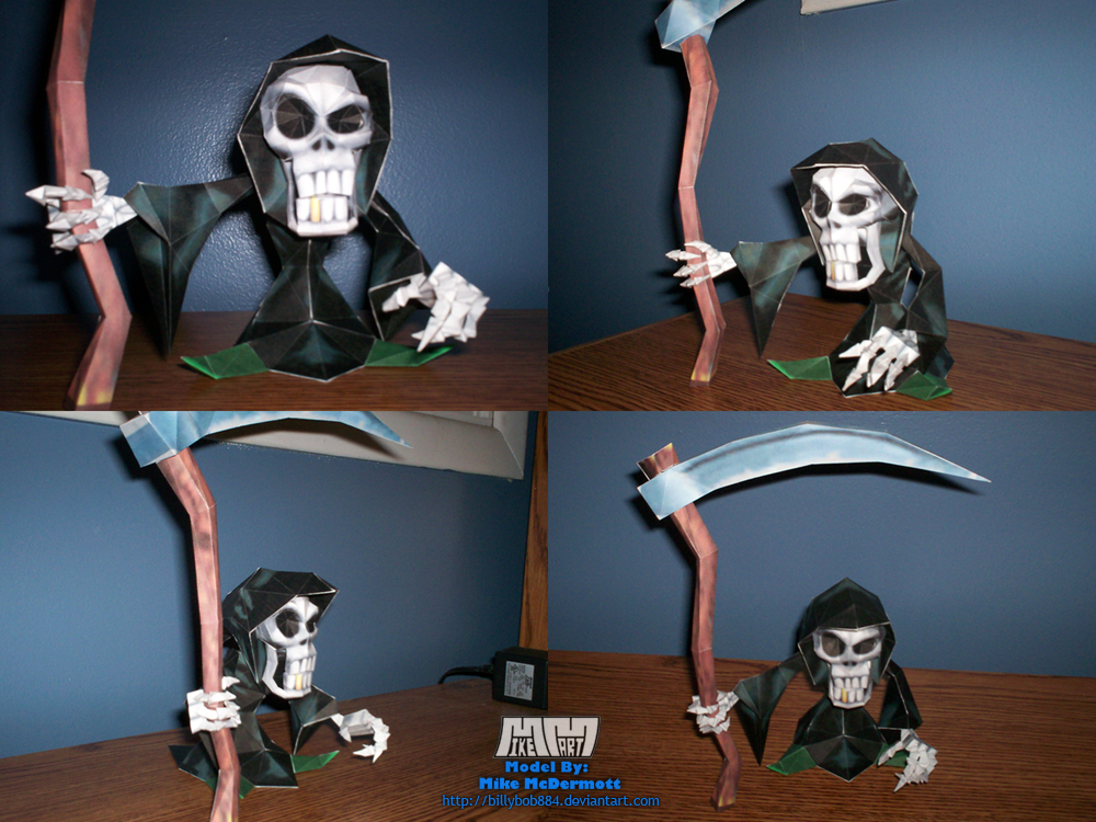 CBFD Gregg the Reaper Assembld by billybob884