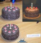 Portal Cake Assembled