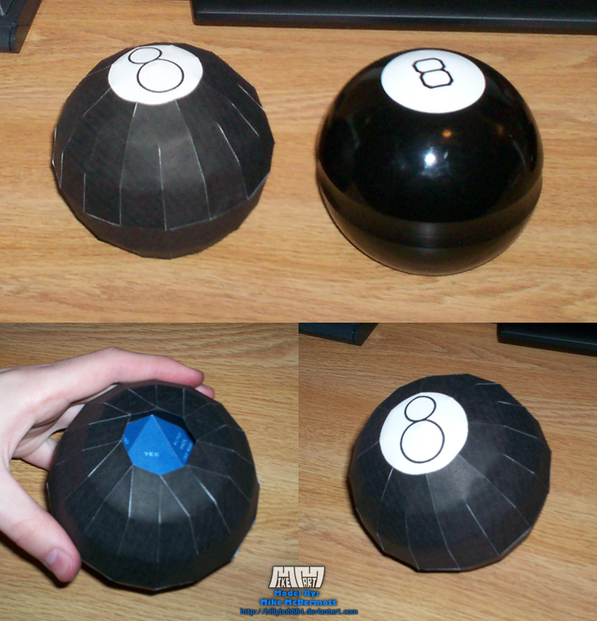 Magic 8 Ball Assembled by billybob884