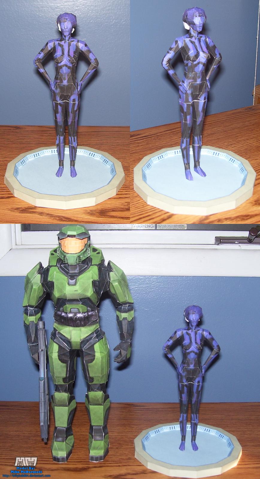 Halo Cortana Assembled by billybob884