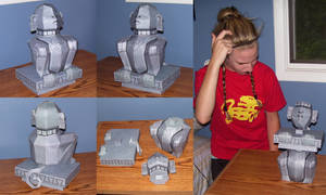 Silver Monkey Assembled