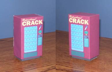 Crack Vending Machine Assembld