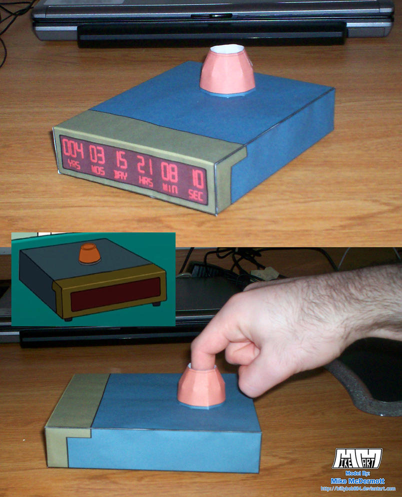 Futurama Death Clock Assembled by billybob884
