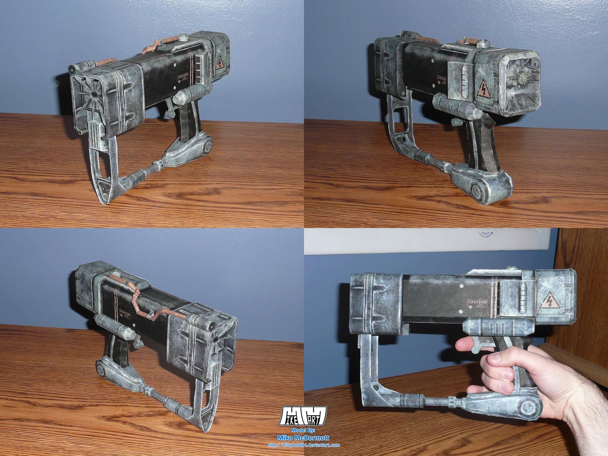 AEP7 Laser Pistol Assembled