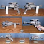 Alien Blaster Assembled