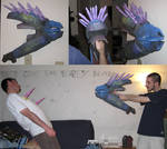Halo Needler Assembled