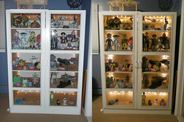 Model Display Cabinet By Billybob884 Model Display Cabinet By Billybob884