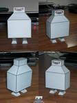 Futurama Boxy Robot Assembled