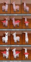 dA Llamas Assembled