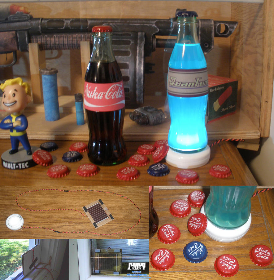 Nuka Colas + Caps by billybob884