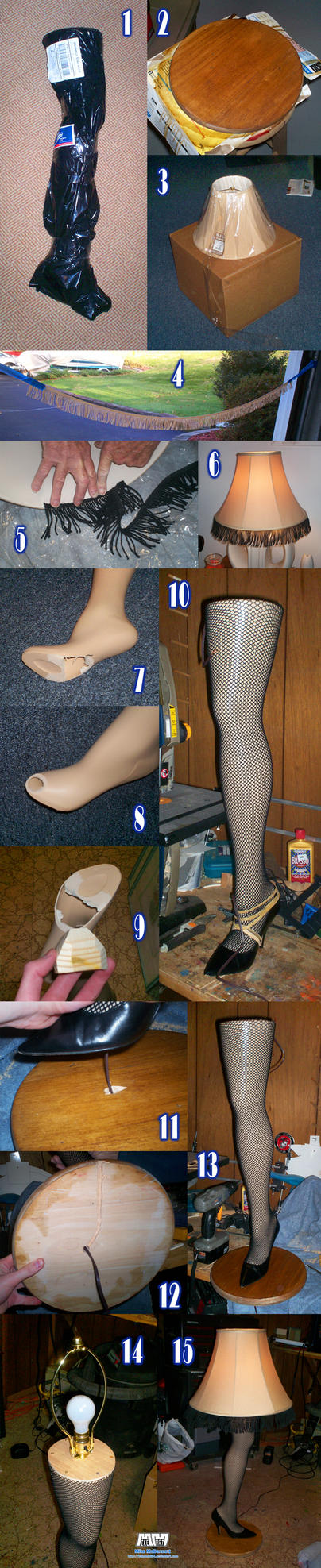 Leg Lamp In-Progress Shots by billybob884