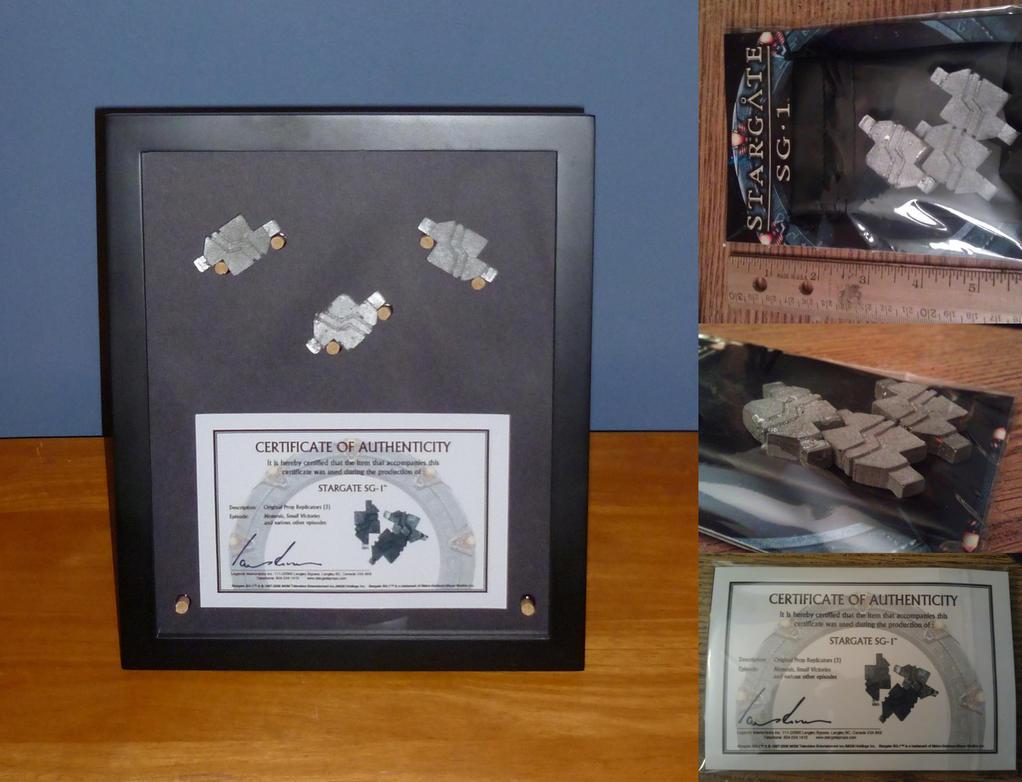 SG1 Replicator Blocks Shadow Box by billybob884
