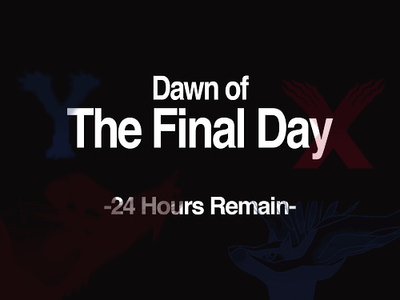 Dawn of the final day-24 hours...