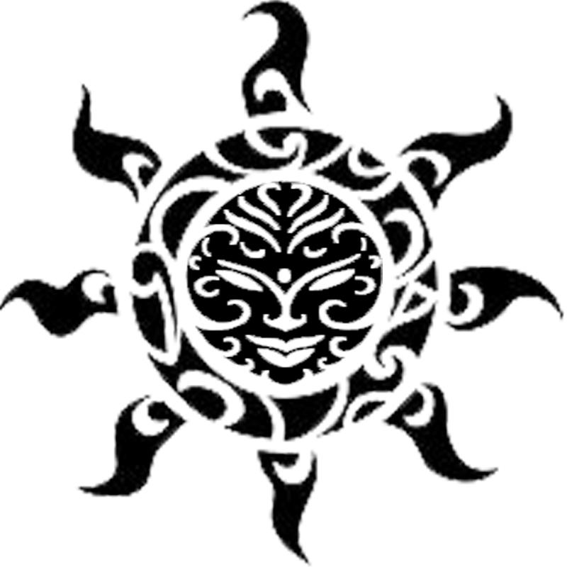 Maori Tattoo Design Wallpaper Wp300369: Polynesian And Samoan Sun Tatt By Kwanzantora On DeviantArt