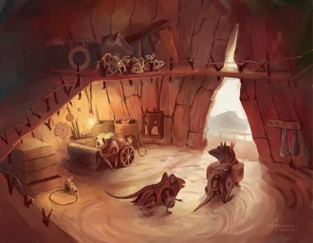 Steampunk mice