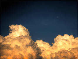 Firery Clouds by baumwolle