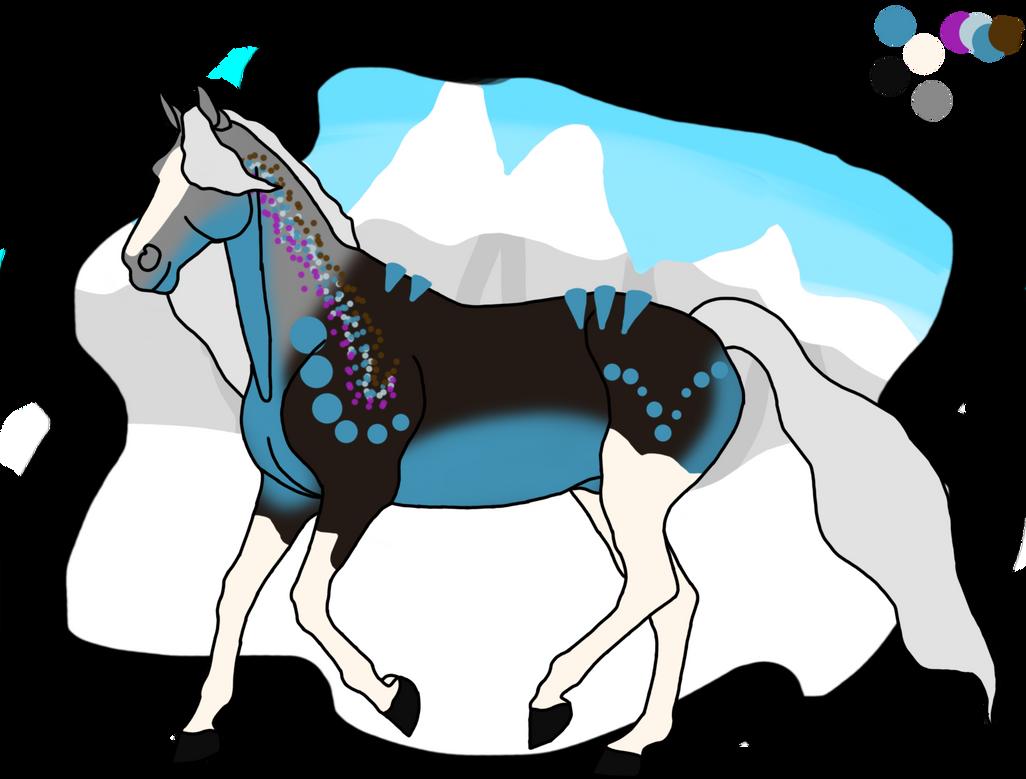 N2946 Ice King - Ehren Novius Stallion - Prf Blood
