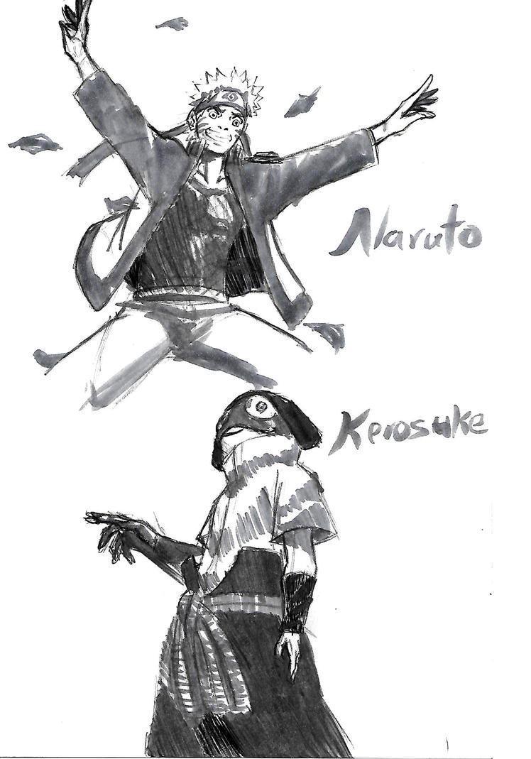 ! Naruto and Kerosuke by Dreballin3x