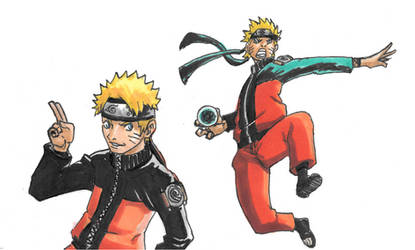 Uzumaki Naruto by Dreballin3x