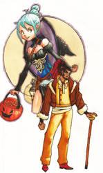 ! Kana and Z - 2 by Dreballin3x