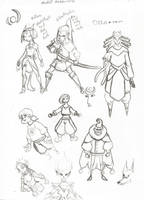 ! Character Sketches