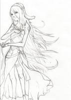 ! Azura - Lineart
