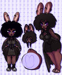 Auction Goth Bunny - closed