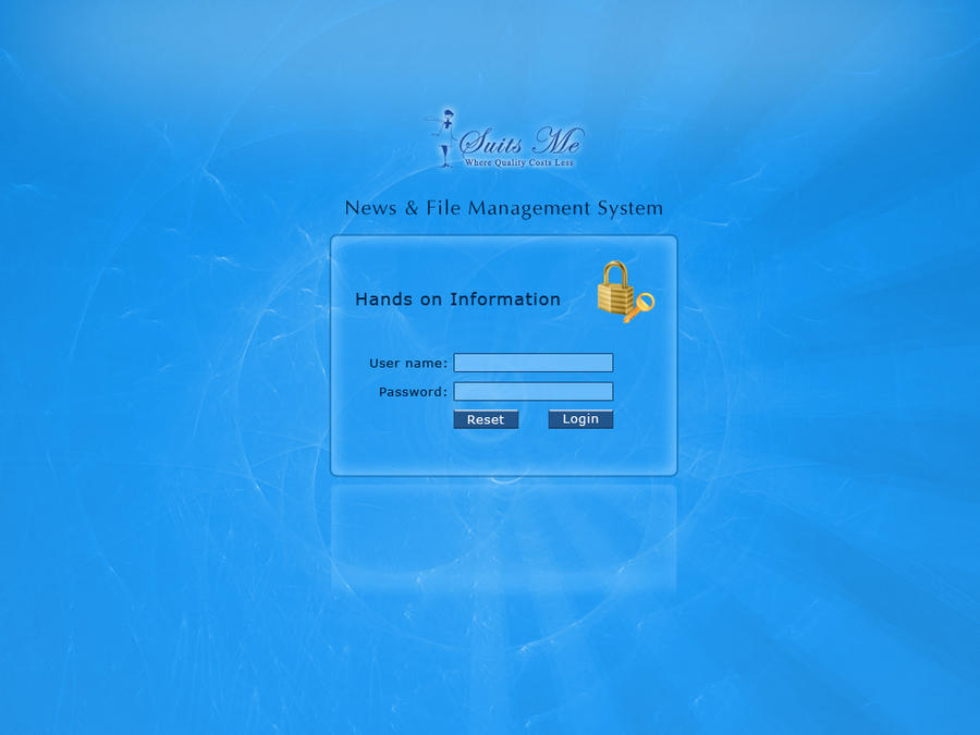 Login window by mazia10