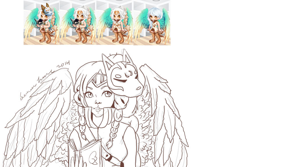 Gaia Avatar WIP by ll-Hidden-ll