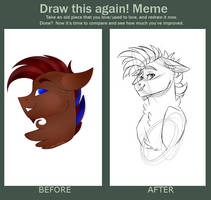 Draw this Again Meme! (Part 1) by dejja-vu122