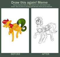Draw this Again Meme! (Pt. 2) by dejja-vu122