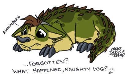 Hurt Crocadog by filthy-animal