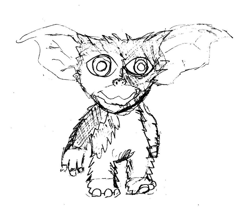 Monster Boy Challenge Day 1 : Gizmo by Buddhadragon