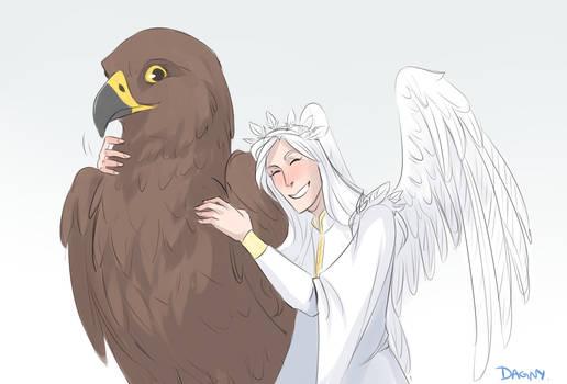 Olorin and Thorondor