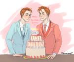 Happy Birthday babies by DagnyArt