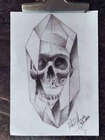 Cristalized Skull by ailtonalmeidaz