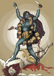 Kali Ma Shakti by njgking75