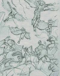 Power Ranger Study  by njgking75