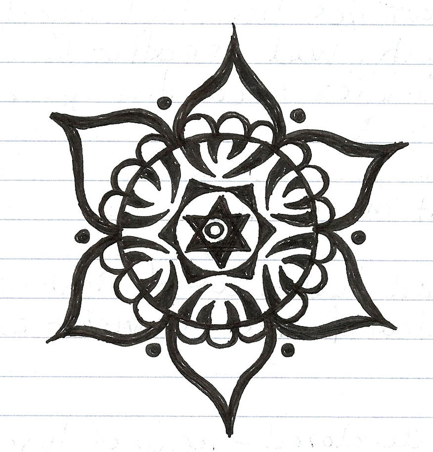 Displaying 20> Images For - Simple Mandala Tattoo Designs...