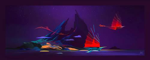 Blue Island by Yliade