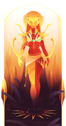 Sekhmet ~ Egyptian Gods by Yliade